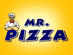 Mr. Pizza Logo
