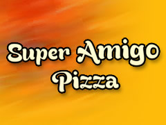 Super Amigo Pizza Service Logo