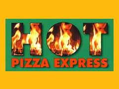 Hot Pizza Express Logo