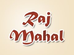 Raj Mahal Indian Food Logo