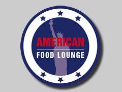 American Food Lounge Logo