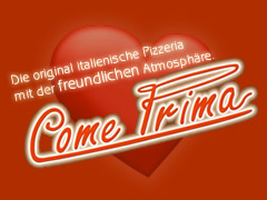 Pizzeria Come Prima Logo