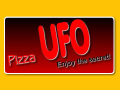 Pizza UFO Logo