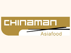 Chinaman Asiafood Logo