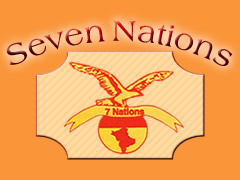 Seven Nations Pizza Heimservice Logo