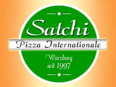 Satchi Pizza Internationale Logo