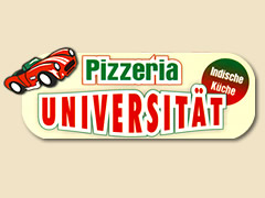 Pizzeria Universität Logo