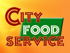 City Food Service Logo