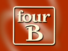 Four B Pizzeria Logo