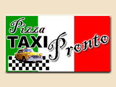 Pizza Taxi Pronto Logo