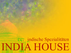Restaurant India House Logo