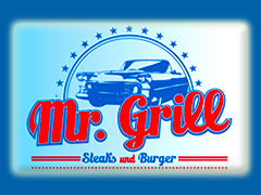 Mr. Grill Restaurant Logo