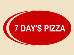 7 Day's Pizza Logo