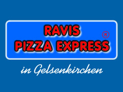 Ravis Pizza Express Logo