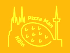 Pizza Man Bickendorf Logo