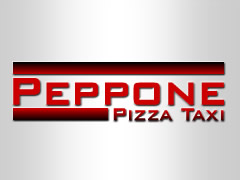 Peppone Pizza Taxi Logo