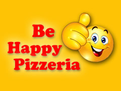 Be Happy Pizzeria Logo