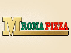 M Roma Pizza Logo