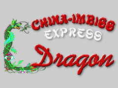 China Imbiss Express Dragon Logo